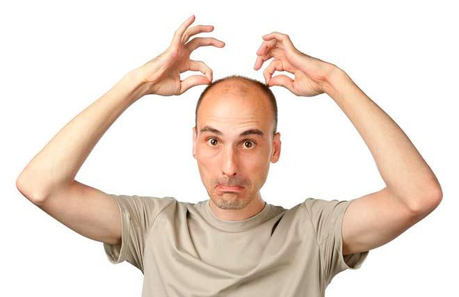 Отсутствие волос